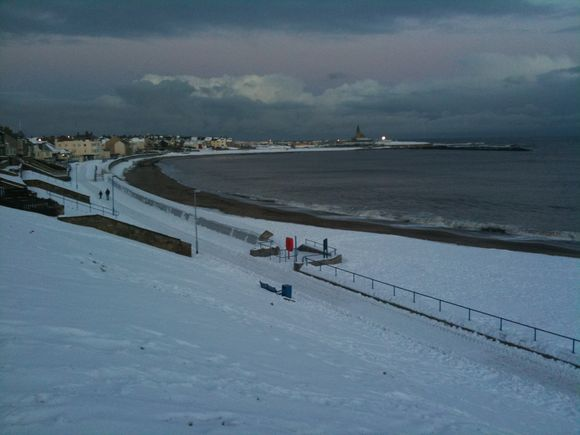 Christmas Eve in Newbiggin